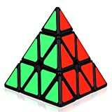 Dreampark Magnetic Pyramid Speed Cube Puzzles for Adults and Kids Toys, Black