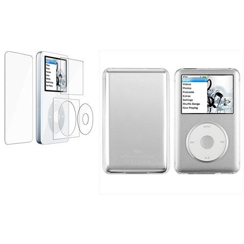 Housse Etui Coque+Film Pour iPod Classic 80/120GB/160GB ChannelExpert B00394