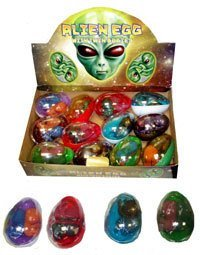 2 X Alien Egg with Twin Baby in Slime jelly-M7