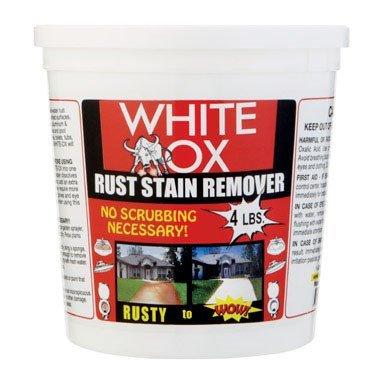 White - Ox Whiteox Ruststain Rmr 4#, White - Ox