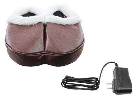 Heating Vibrating Relax Foot Massage shoes Slippers Machines Powerful Comfortable Warm Vibration Heat Therapy Feet Relaxation Muscle Ease Relieve Aching Feet Help Blood Flow The HealthmateForever