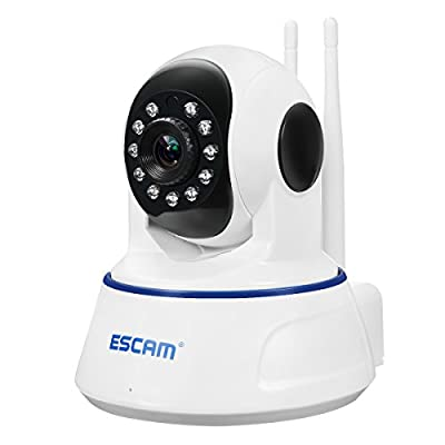 IP Camera, EIVOTOR HD 1080P Indoor Home Wireless WiFi Security Camera with 360¡ã Wide-Angle Viewing, Night Vision, Motion Detection, Baby Monitor