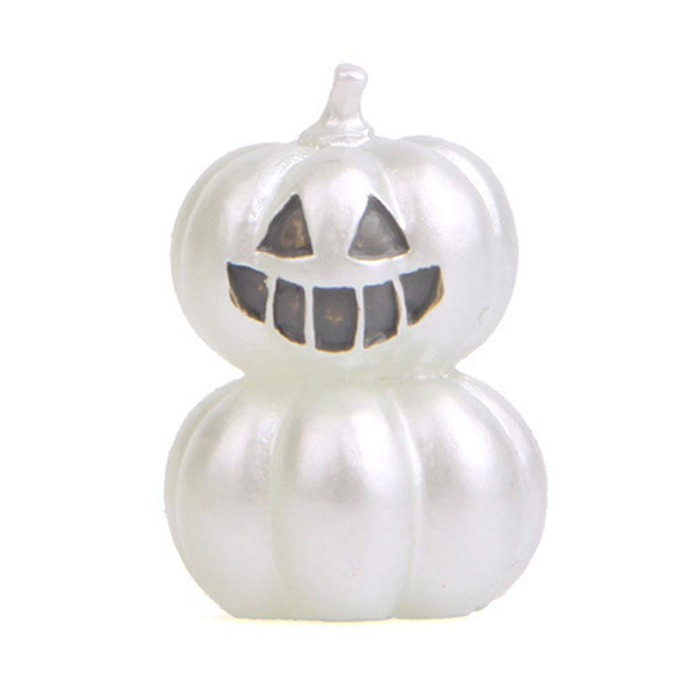 Demarkt 1PCS Elf Halloween Pumpkin/Ghost / Devil Wild Gardening Micro Landscape Garden Green Doll