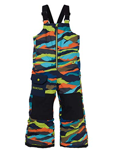 Burton System Snow Pants - Burton Kids & Baby Toddler Maven Bib, Summit Stripe, 2T