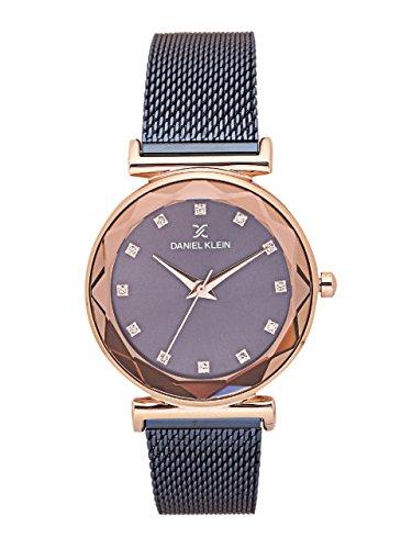 Daniel Klein Analog Blue Dial Women's Watch – DK11404-4