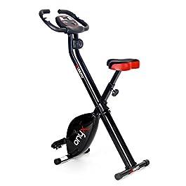 Viavito Onyx Folding Exercise Bike – Black