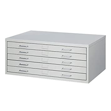 Safco 4972GR Facil Steel Flat File Medium For Documents up to 42u0026quot; x 30u0026quot  sc 1 st  Amazon.com & Amazon.com : Safco 4972GR Facil Steel Flat File Medium For ...