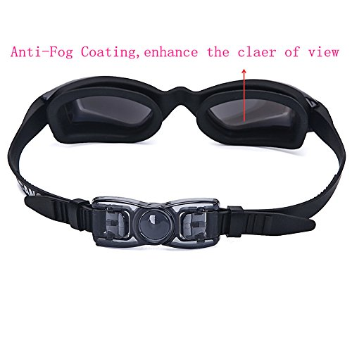 Swimming Goggles for Adult and Kids Swim Goggles Anti Fog UV Protection Comfort fit for Unisex Men and Women, Teenagers