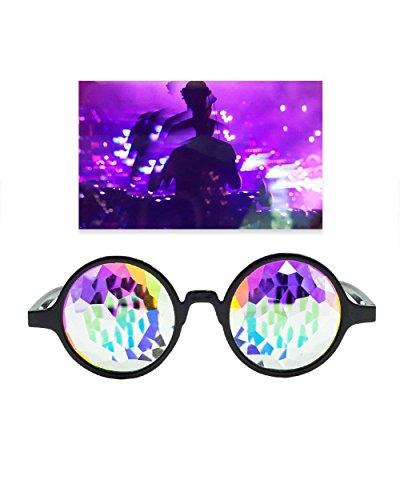 Emazing Lights Kaleidoscope Prism Rave - Sunglasses Peeks