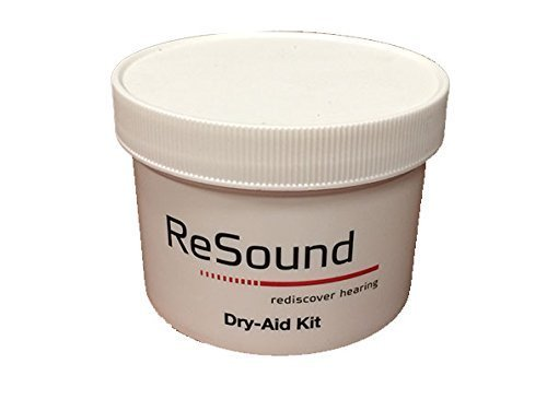 ReSound GN Hearing Aid Dehumidifier Jar with Microweable Desiccant (Hearing Aid Drying Case)