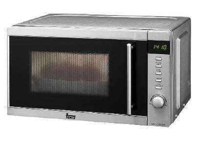 Teka - Microondas Me20E, 20L, 1000W, Grill, Exterior Inox ...