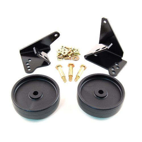 (MTD Genuine Parts OEM-190-183 Wheel Kit for 38-Inch and 42-Inch Decks 2009 and Prior )