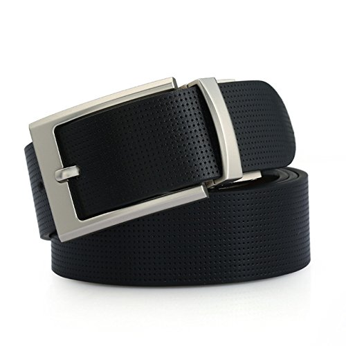 Men belt cow genuine leather luxury strap male belts for men classice pin 2018