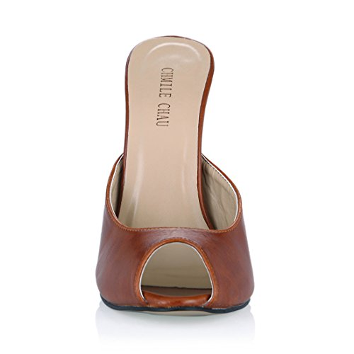 Met Aguja Alto Zapatos Tacon de Chau CHMILE Mujer Sandalias para de UvOnzxBAwq