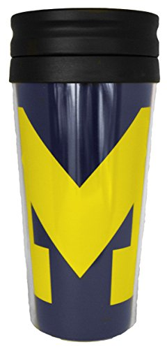 NCAA Michigan Wolverines 14 oz Travel Mug