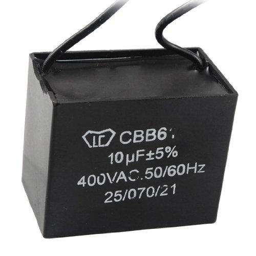 - Aexit CBB61 Metalized Passive Components Polypropylene Film Motor Run Capacitor AC Capacitors 400V 10uF