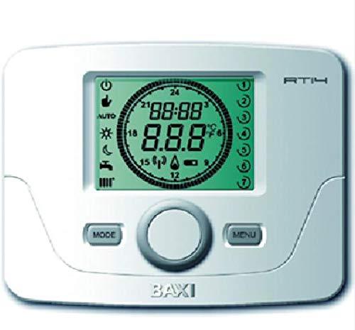Baxi termostato modulante Digital semanal TCX 10C: Amazon.es: Hogar
