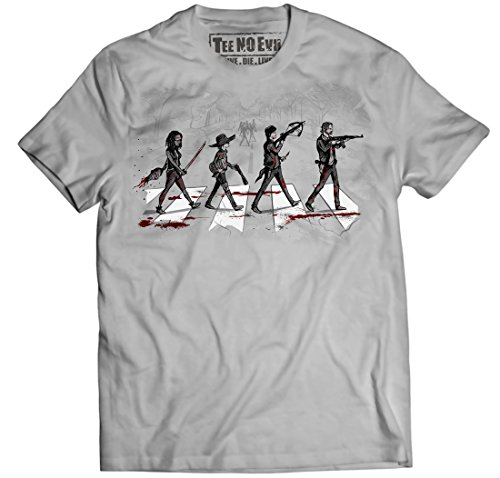 (The Walking Dead Daryl Rick Michonne Zombie Apocalypse T Shirt (Small))