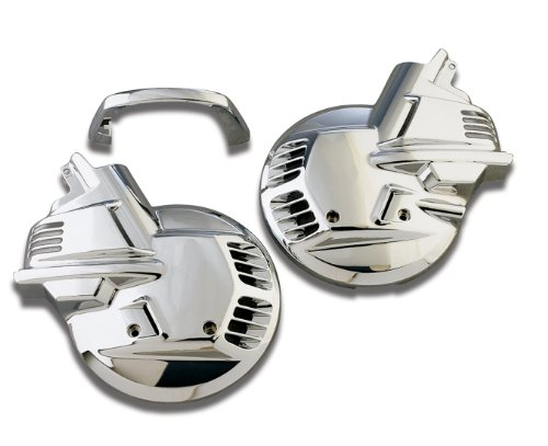 Show Chrome Accessories 2-497 Tour Rotor Disc Cover ()