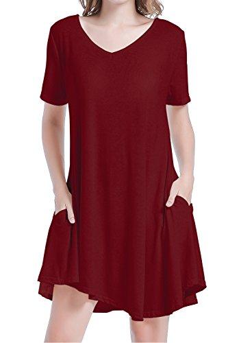 悪性のすでに動かないPoppe DRESS レディース カラー: レッド