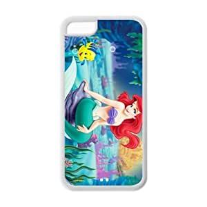 Attractive The Little Mermaid Theme Back TPU cases for phone ipod touch 5 ipod touch 5