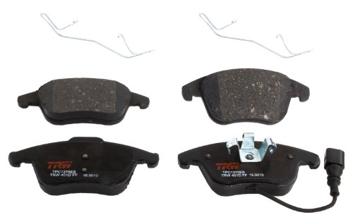 (TRW TPC1375ES Premium Ceramic Front Disc Brake Pad Set)