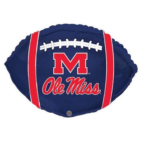 (CTI Balloons Foil Balloon 315110HV University Mississippi Ole Miss Rebels Football 21