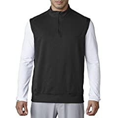 "Soft, rich, cotton-like body fabric engineered with stretch for mobility - No-curl, ribbed detailing at front, neck, and waist\ - Ribbed detailing under arm - adidas raised ""badge of sport"" heat transfer at right hem"