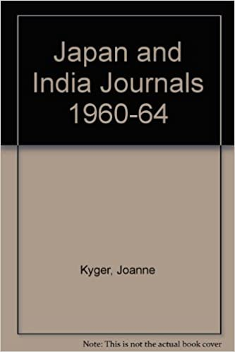 Japan and India Journals 1960-64