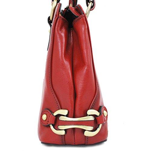 Rouge Katana en à Femme main cuir Sac Oq6x8Ix