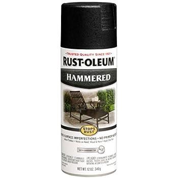 Amazoncom Rust Oleum 7220830 Textured Spray Black 12 Ounce Home