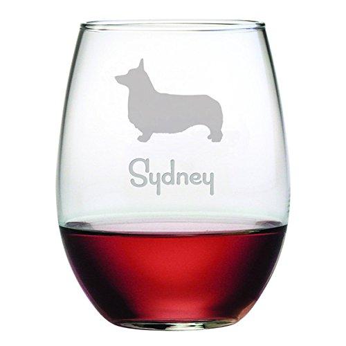 Dog Breed Wine Glass - 7