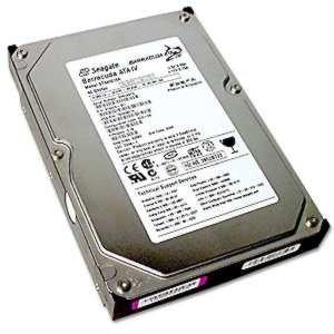 Seagate 80GB Barracuda Sata HDD 7200RPM Ncq 8MB, ST380817AS by Seagate