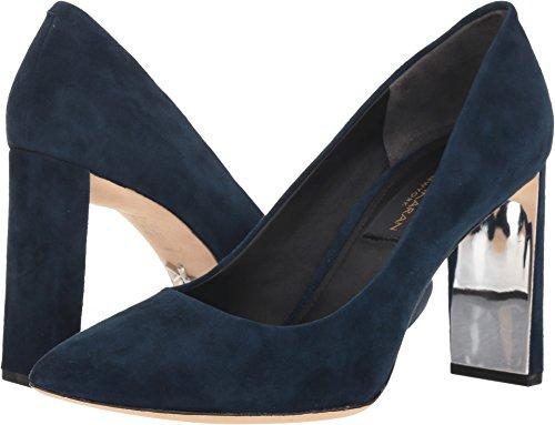 Donna Karan Women's Criss Dark Blue Suede 7 M US