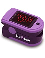 Zacurate Mystic Purple 500DL Pulse Oximeter