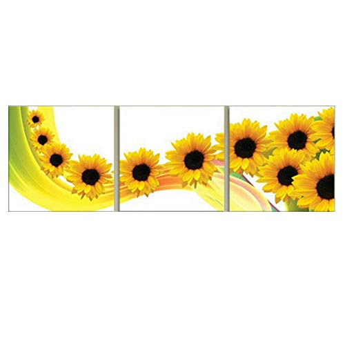 Cross Stitch, Sunflower, Flower,
