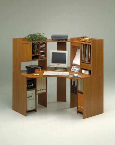 Pc eckschreibtisch  Toller PC-Ecktisch Eckschreibtisch Dekor Kirsche Computertisch ...