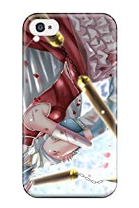 9803267K808901295 blade mahou shoujo madoka anime Anime Pop Culture Hard Plastic iPhone 4/4s cases