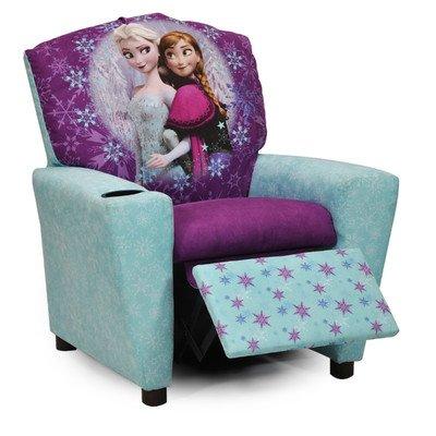 Kidz World Kid's Frozen Recliner - Kid World Furniture Childrens