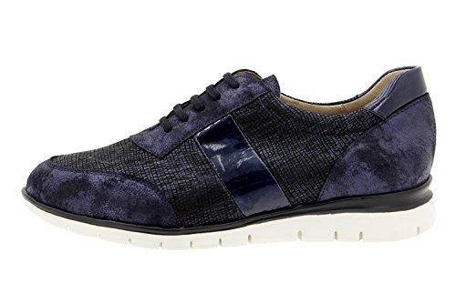 Komfort Damenlederschuh Piesanto 9991 sneaker schuhe bequem breit Marino