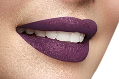 Long Lasting Lipstick Liquid to Matte Velvet Finish Lip Gloss by Mynena - Meg
