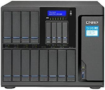 QNAP TS-1685 NAS Escritorio Ethernet Negro - Unidad Raid (Unidad ...