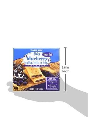 "Trader Joe's ""Walks Into a Bar"" Cereal Bar Bundle - 4 Items: (1) 6 Bar Box Each Flavor: Blueberry, Fig, Strawberry & Apple (24 Bars Total)"