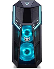 Acer Predator Orion 5000 600S, Gaming Desktop Computer (Intel i7-9700, 16GB DDR4 RAM, 512GB PCIe NVMe SSD + 1TB HDD 7200 RPM, NVIDIA RTX 2060 6GB GDDR6 DVI/HDMI/3xDP, Windows 10 Home)