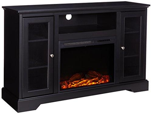 highboy fireplace tv console