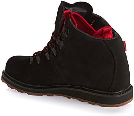 1463439f421 DVS Men's Yodeler, Black/Red Suede Snow, 10 M US: Amazon.com