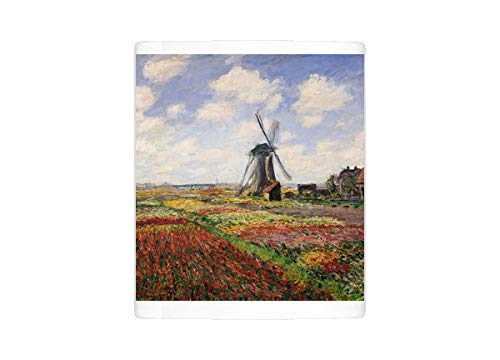 (Mug of Tulip Fields with the Rijnsburg Windmill, 1886 (oil on canvas) (10865588))