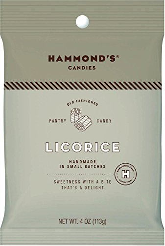 Old Fashioned Licorice Hard Pantry Candy - 4 oz