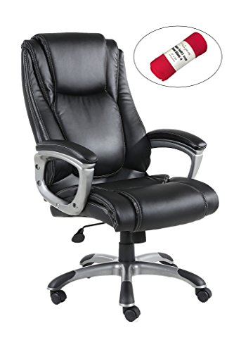 Tilt Control Leather Office Chair - 9