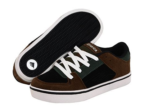Emerica THE Mob Marrón/Negro/Gris Youth Shoe